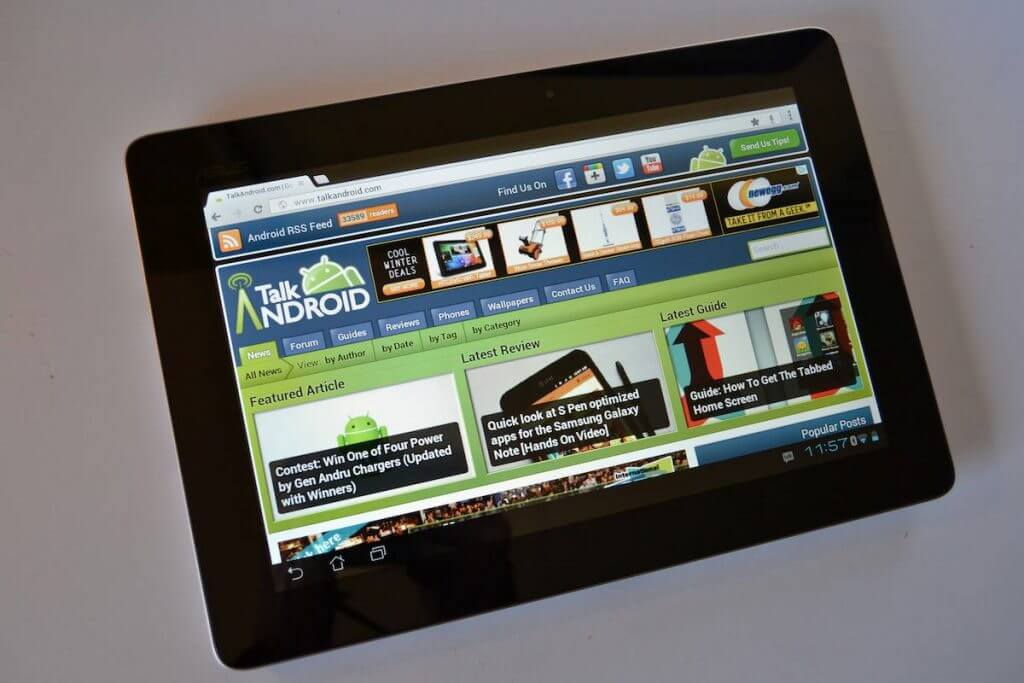 Asus Transformer Prime Reviews
