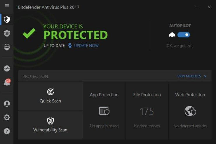 Bitdefender Best Antivirus For Windows