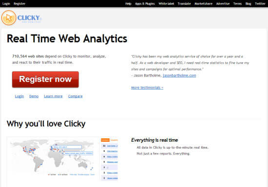 Clicky Analytics