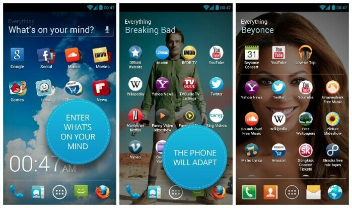 EveryThingMe Launcher - Android