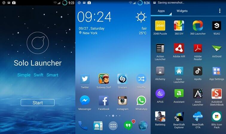 Android Launcher - Solo Launcher