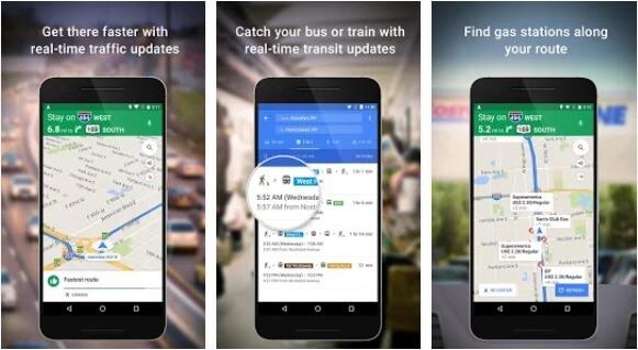 Maps - Navigation, Bus & Train