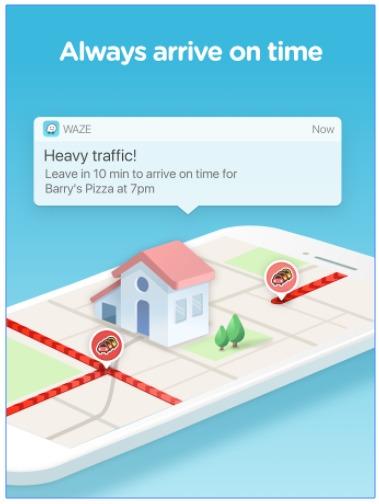 Waze GPS, Navigation, Maps & Traffic