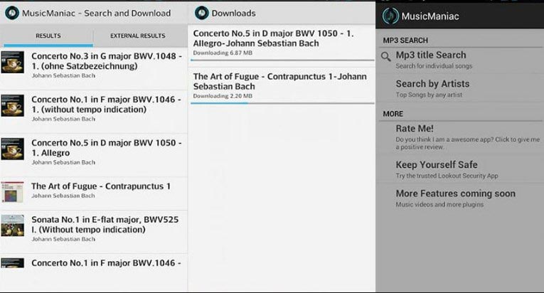 Music Manic-Mp3 Downloader