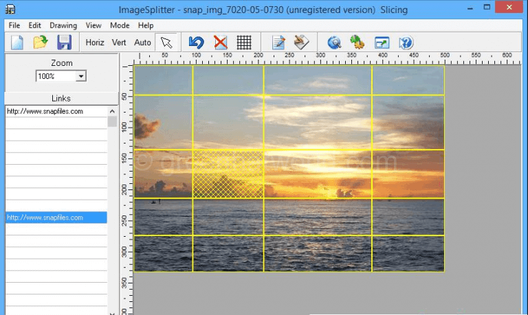 Download Free HTML Image Splitter Tool